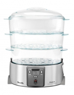 Breville - The Quick Steam Digital steamer BFS600BSS